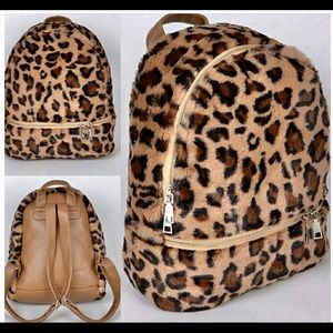 Faux Fur Backpack NEW